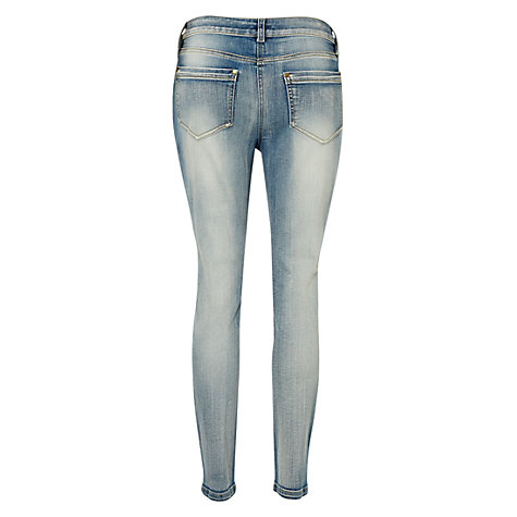 Buy NW3 by Hobbs Summer Skinny Jeans, Light Indigo Online at johnlewis.com