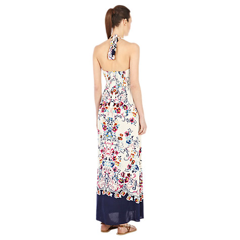 Buy Warehouse Floral Maxi Dress, Multi Online at johnlewis.com