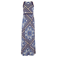 Buy Warehouse Scarf Print Maxi Dress, Multi Online at johnlewis.com