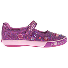 Buy Lelli Kelly Toadstool Dolly Shoes, Fuchsia Online at johnlewis.com
