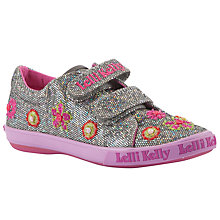 Buy Lelli Kelly Francine Trainers, Pewter Glitter Online at johnlewis.com