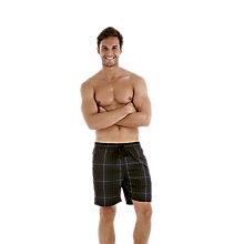 Buy Speedo Yarn Dyed Check Aquashort Swim Shorts Online at johnlewis.com