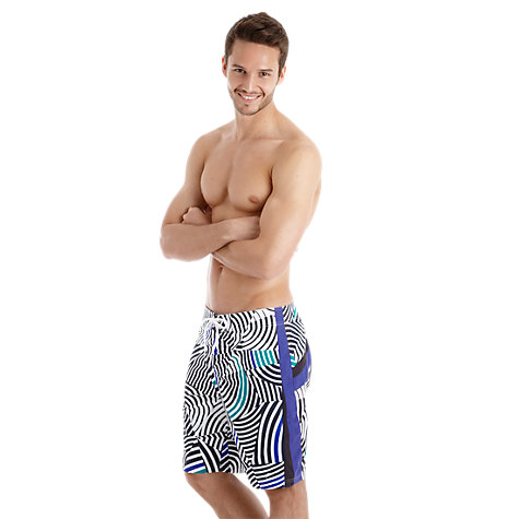 Buy Speedo Hybrid Printed Watershorts Online at johnlewis.com