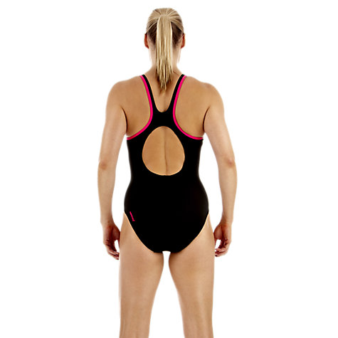 Buy Speedo Monogram Muscleback Swimsuit Online at johnlewis.com