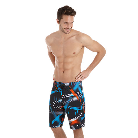 Buy Speedo Speedreef Xpress Drying All Over Print Watershort Swim Shorts Online at johnlewis.com