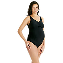 Buy Speedo Grace U-Back Maternity One Piece Swimsuit, Black Online at johnlewis.com