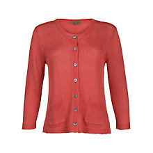 Buy Jigsaw Verse Linen Cardigan Online at johnlewis.com