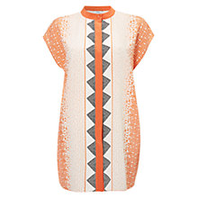 Buy Hobbs Broughon Top, Coral Online at johnlewis.com