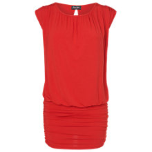 Buy Phase Eight Made in Italy Lopez Jersey Top, Flame Online at johnlewis.com