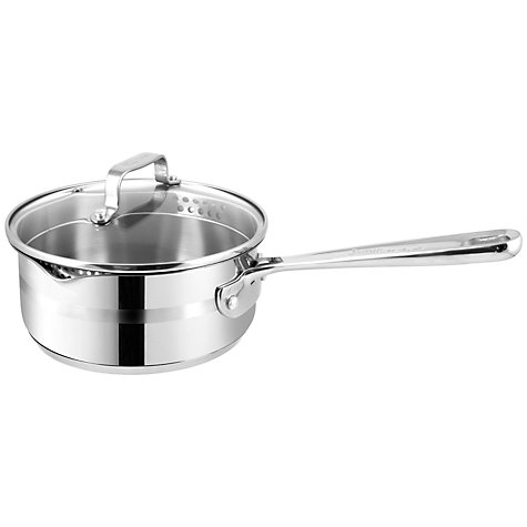 Buy Jamie Oliver Stainless Steel Professional Series Saucepan Online at johnlewis.com