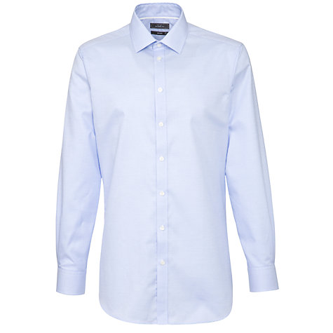 Buy John Lewis Tailored Textured Long Sleeve Shirt Online at johnlewis.com
