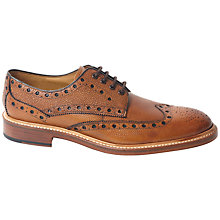 Buy Oliver Sweeney Hasketon Leather Stormwelt Brogue Shoes Online at johnlewis.com