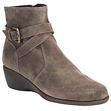 Buy John Lewis Designed for Comfort Warbler Wedged Ankle Boots Online at johnlewis.com