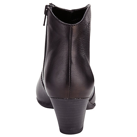 Buy John Lewis Designed for Comfort Heeled Ankle Boots Online at johnlewis.com