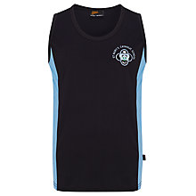Buy St Mary's Catholic School Unisex Sports Vest, Navy Blue/Sky Blue Online at johnlewis.com