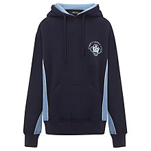 Buy St Mary's Catholic School Unisex Sports Hoody, Navy Blue/Sky Blue Online at johnlewis.com