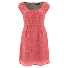 Buy Mint Velvet Embroidered Dress, Pink Online at johnlewis.com