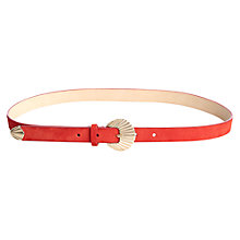 Buy Jigsaw Seashell Skinny Belt Online at johnlewis.com