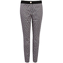Buy Ted Baker Rosaro Geo Printed Trousers Online at johnlewis.com