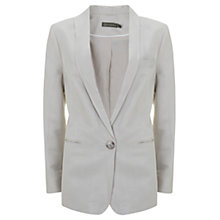 Buy Mint Velvet Boyfriend Blazer, Stone Online at johnlewis.com