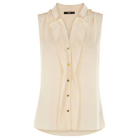 Buy Oasis Double Collar Shirt Online at johnlewis.com