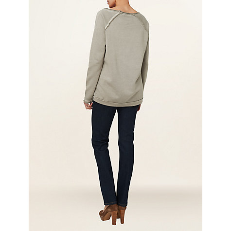 Buy Phase Eight Made in Italy Cara Jewelled Jumper, Praline Online at johnlewis.com