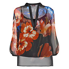 Buy Phase Eight Casey Floral Blouse, Multi Online at johnlewis.com