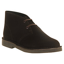 Buy Clarks Desert Boots, Brown Online at johnlewis.com