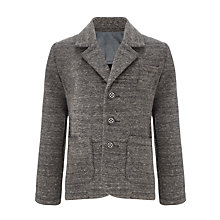 Buy Kin by John Lewis Boys' Sweat Blazer, Grey Online at johnlewis.com