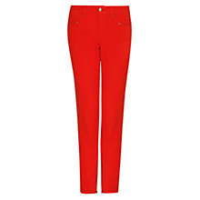 Buy Mango Studded Jeans, Fire Red Online at johnlewis.com