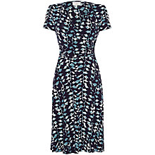 Buy allegra by Allegra Hicks Ava Dress, Animal Indigo Online at johnlewis.com