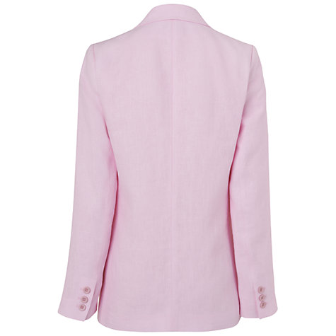 Buy Jaeger Long Linen Blazer Online at johnlewis.com