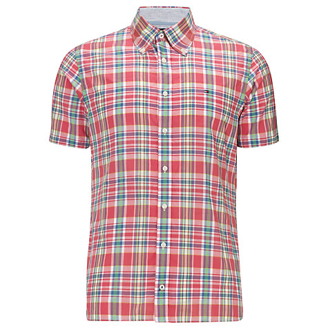 Buy Tommy Hilfiger Edo Check Short Sleeve Shirt Online at johnlewis.com