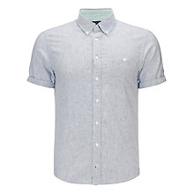 Buy Tommy Hilfiger Ryan Stripe Short Sleeve Shirt Online at johnlewis.com
