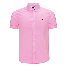 Buy Tommy Hilfiger Neon Oxford Short Sleeve Shirt Online at johnlewis.com