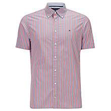 Buy Tommy Hilfiger Gerald Stripe Short Sleeve Shirt Online at johnlewis.com