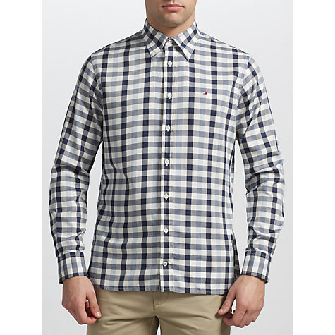 Buy Tommy Hilfiger Arthur Check Long Sleeve Shirt Online at johnlewis.com