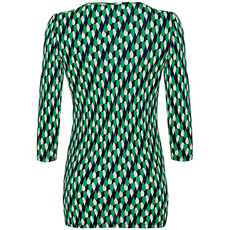 Buy allegra by Allegra Hicks Alana Top, Raindrop Green Online at johnlewis.com