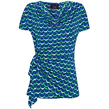 Buy allegra by Allegra Hicks Madison Top, Blue Online at johnlewis.com