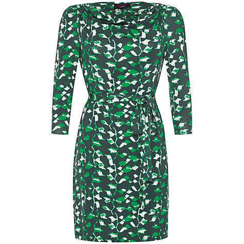Buy allegra by Allegra Hicks Charlotte Dress, Animal Green Online at johnlewis.com