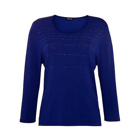 Buy Gerry Weber Sparkle Jumper, Blue Online at johnlewis.com