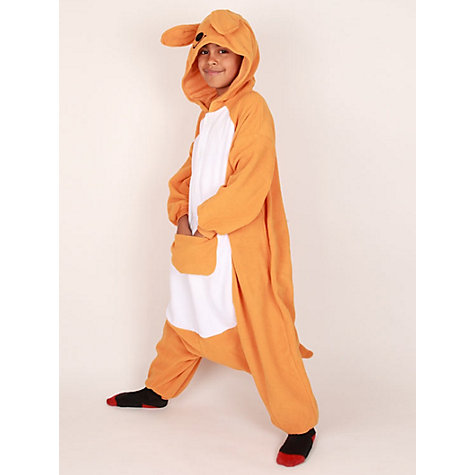 Buy Kigu Kangaroo Onesie, Orange Online at johnlewis.com