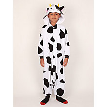 Buy Kigu Cow Onesie, Black/White Online at johnlewis.com