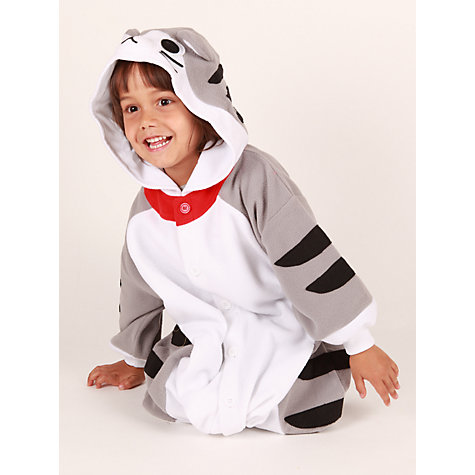 Buy Kigu Cat Onesie, Grey Online at johnlewis.com