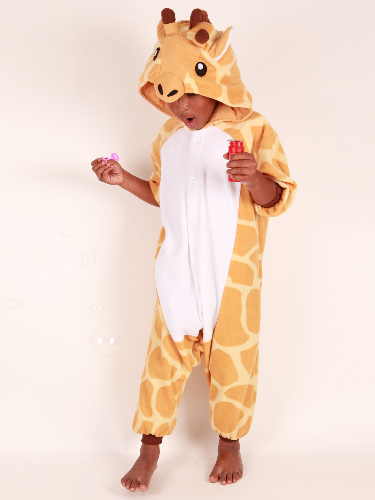 Kigu Giraffe Onesie, Brown