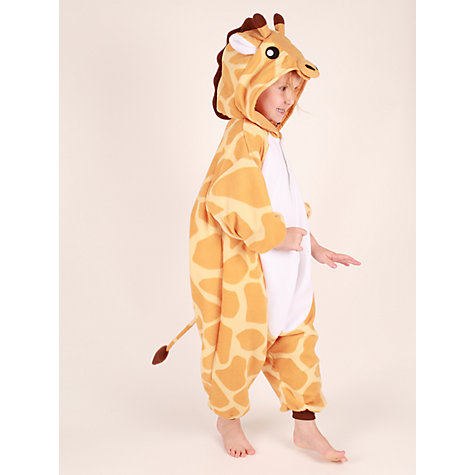 Buy Kigu Giraffe Onesie, Brown Online at johnlewis.com
