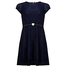 Buy Yumi Girl Party Dress, Navy Online at johnlewis.com