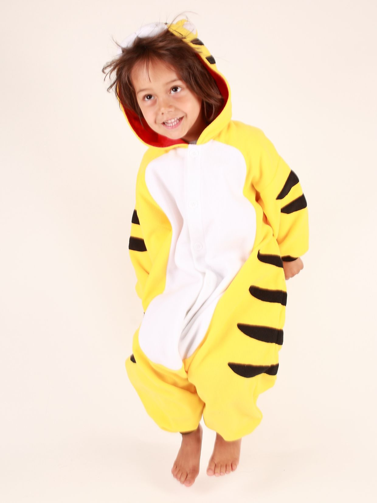 Kigu Tiger Onesie, Yellow