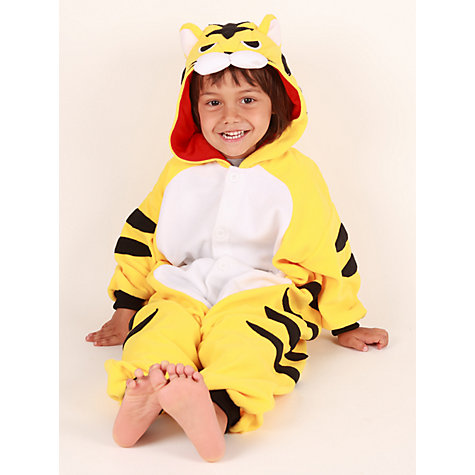 Buy Kigu Tiger Onesie, Yellow Online at johnlewis.com