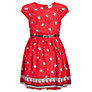 Yumi Girl Cat Dress, Red
